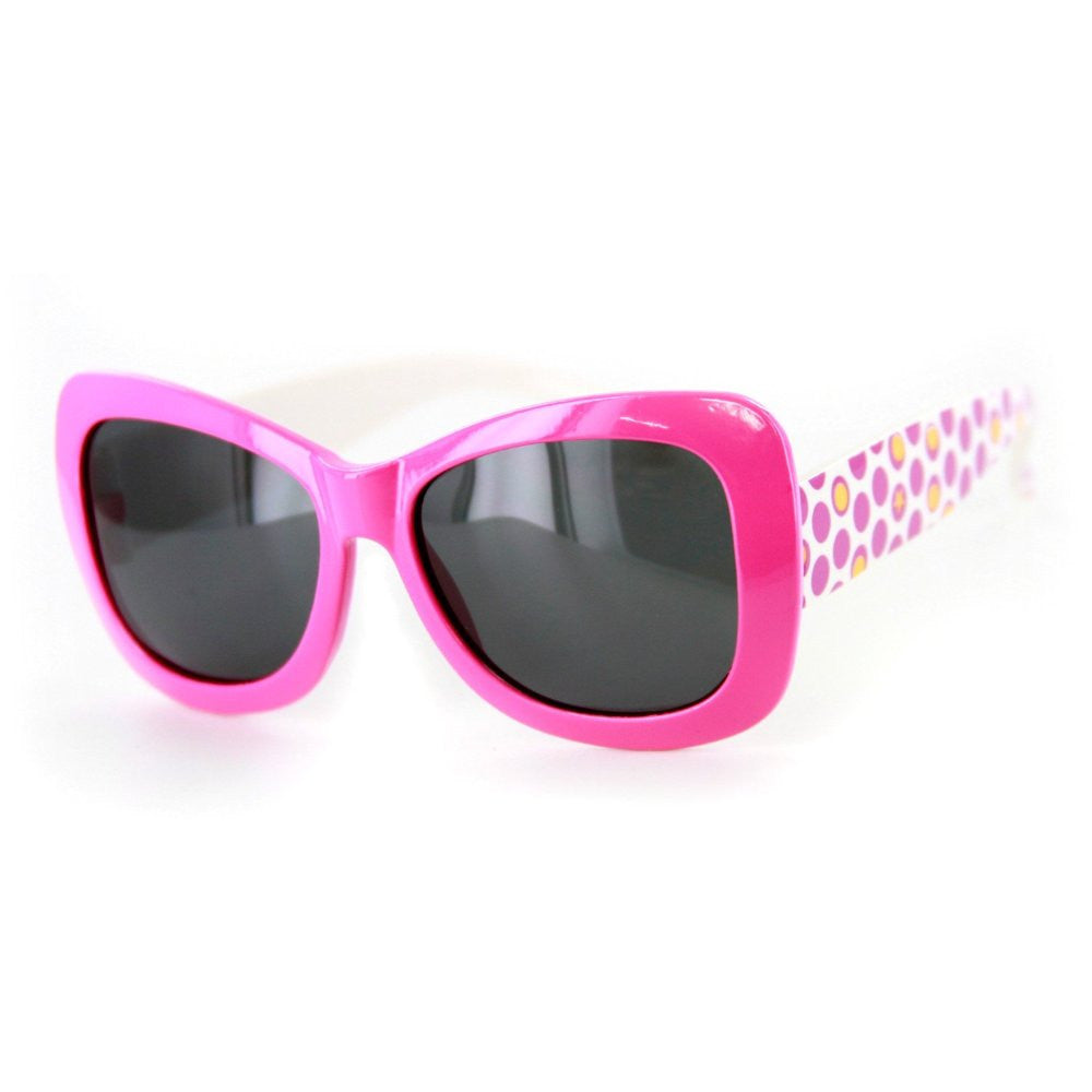 """Hippie Chic"" Polarized (Anti-Glare) Kids Wayfarer Sunglasses Protect Eyes 100%UV - Aloha Eyes - 3"