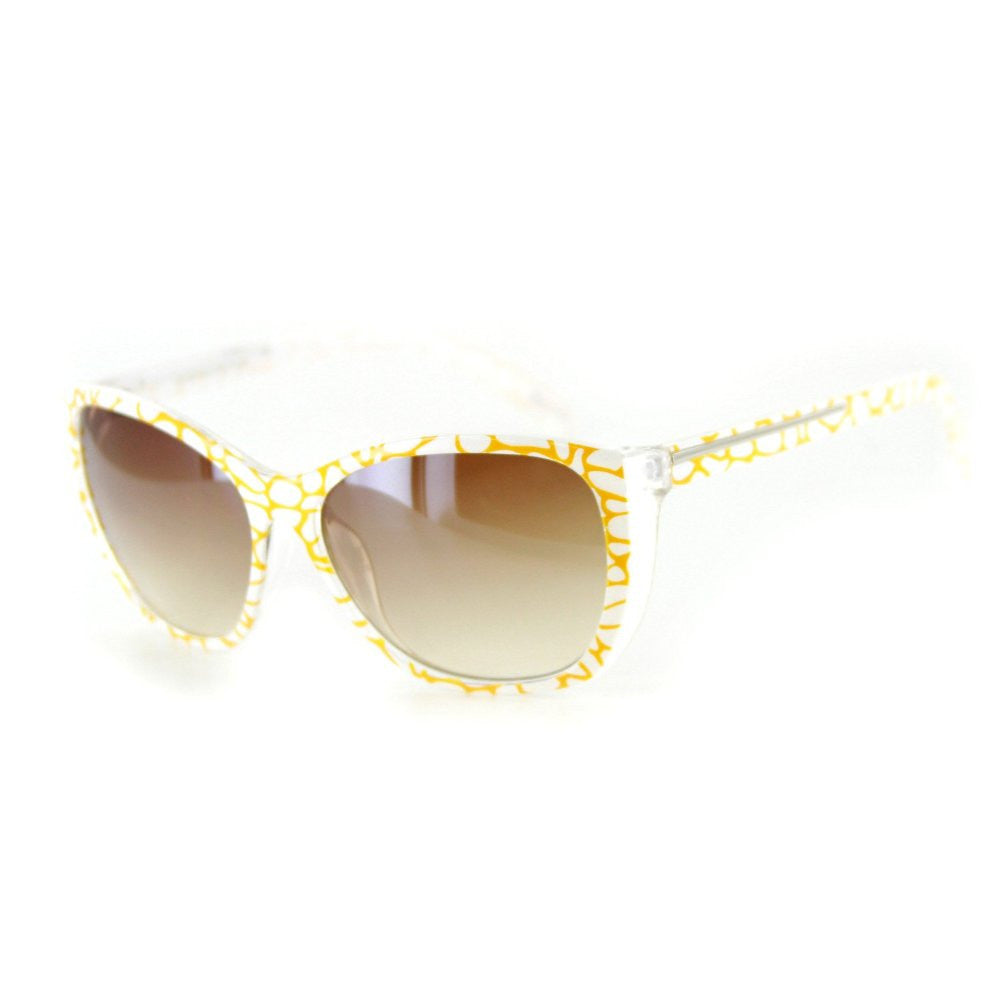 """Animal Instinct"" Designer Sunglasses with Stylish Patterned Frames for Women - Aloha Eyes - 6"