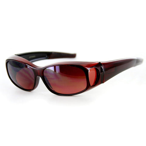 """Hideaways Small"" Over-Prescription Sunglasses w/ Blue Light Blocker"