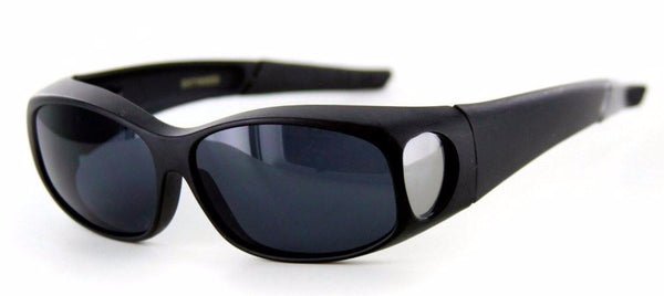 """Hideaways Small"" Over-Prescription Sunglasses w/ Super Dark Lens for Men and Women - Aloha Eyes - 1"
