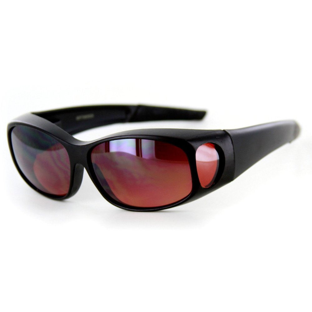 """Hideaways Small"" Over-Prescription Driving Sunglasses w/ Blue Light Blocker Lens for Men and Women - Aloha Eyes - 3"