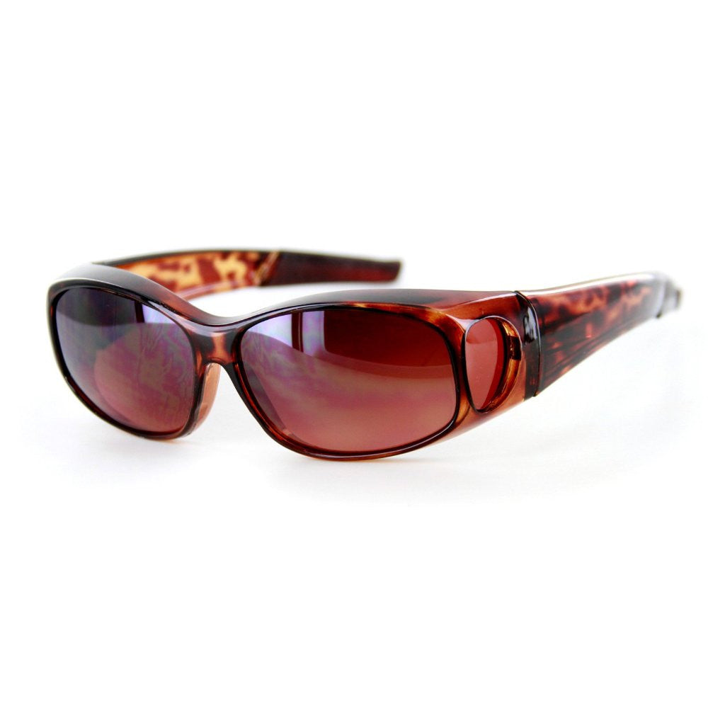 """Hideaways Small"" Over-Prescription Driving Sunglasses w/ Blue Light Blocker Lens for Men and Women - Aloha Eyes - 4"