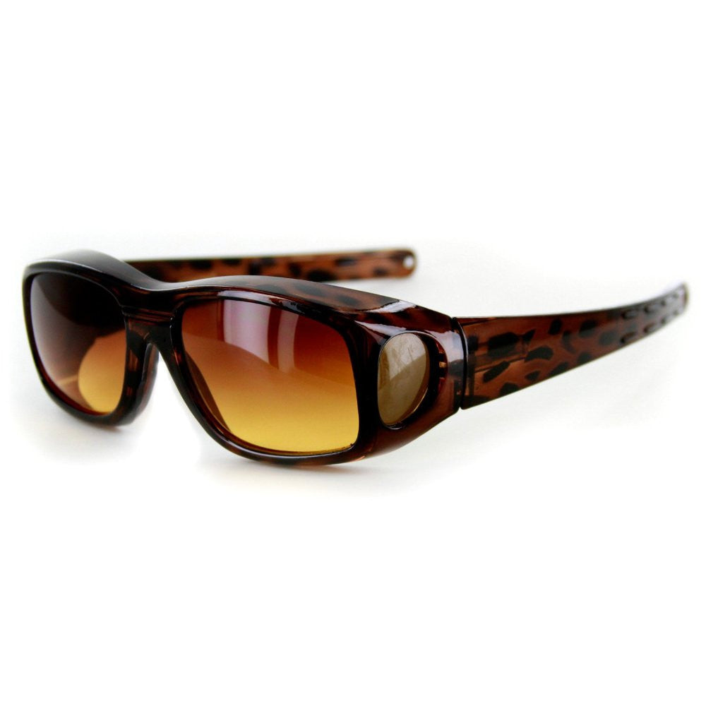 """Hideaways Medium"" Over-Prescription Sunglasses w/ High Density Anti-Glare Lens - Aloha Eyes - 3"