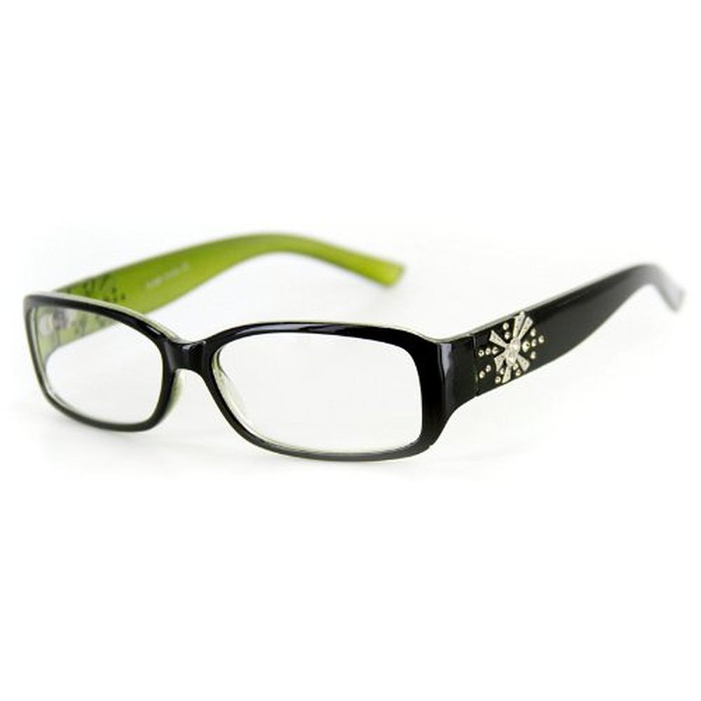 """Venus"" Modern Rectangular Reading Glasses by Ritzy Readers - Aloha Eyes - 4"