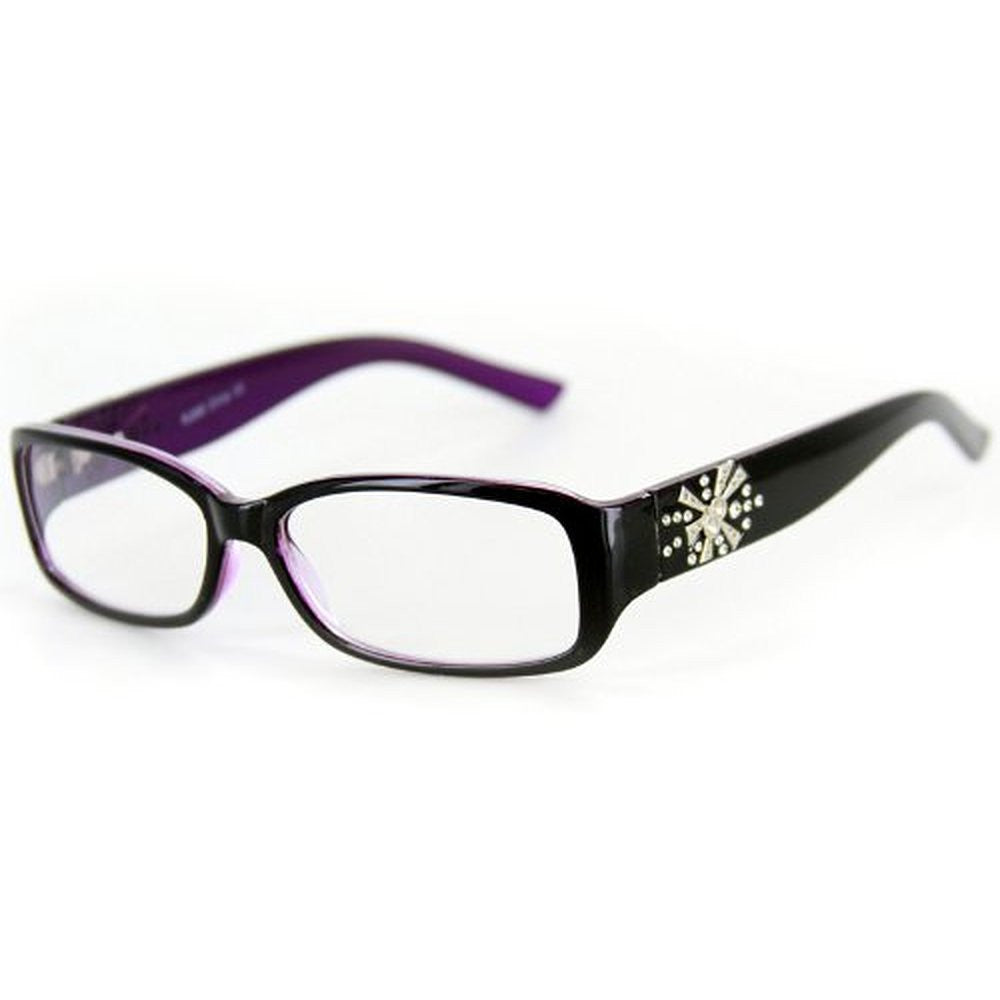 """Venus"" Modern Rectangular Reading Glasses by Ritzy Readers - Aloha Eyes - 5"