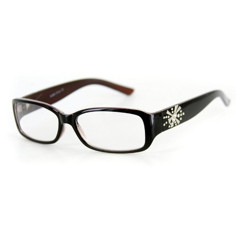 """Venus"" Modern Rectangular Reading Glasses by Ritzy Readers - Aloha Eyes - 3"