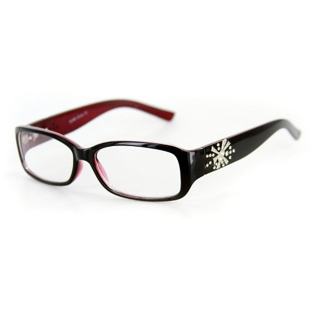 """Venus"" Modern Rectangular Reading Glasses by Ritzy Readers - Aloha Eyes - 6"