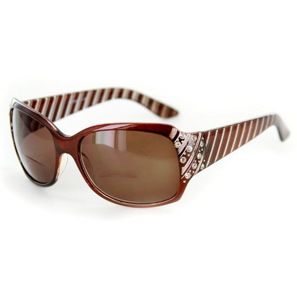 """Stars and Stripes"" Fashion Bifocal Sunglasses with Crystals - Aloha Eyes - 3"