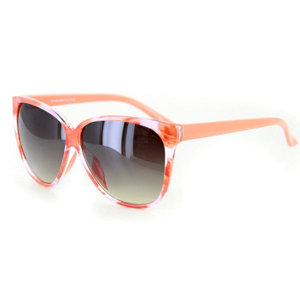 """Bonnaire"" Translucent Frame Sunglasses in Five Gorgeous Colors, 100%UV - Aloha Eyes - 1"