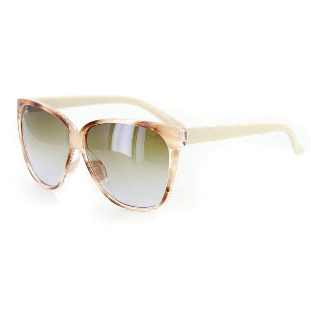 """Bonnaire"" Translucent Frame Sunglasses in Five Gorgeous Colors, 100%UV - Aloha Eyes - 2"