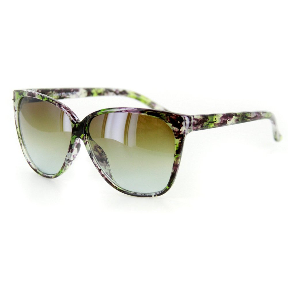 """Bonnaire"" Translucent Frame Sunglasses in Five Gorgeous Colors, 100%UV - Aloha Eyes - 3"