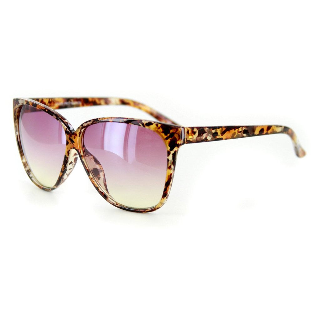 """Bonnaire"" Translucent Frame Sunglasses in Five Gorgeous Colors, 100%UV - Aloha Eyes - 5"