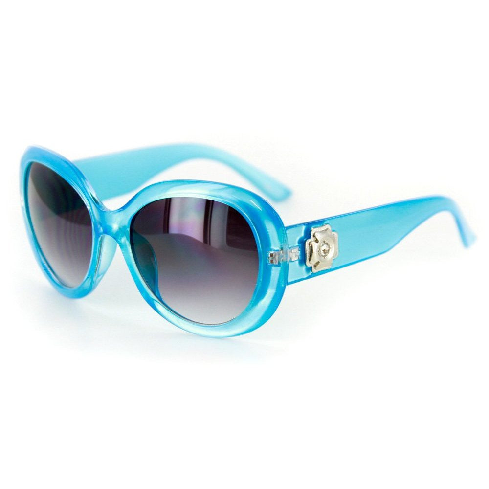 """Lucky Star"" Vintage-Inspired Sunglasses with Austrian Crystals Arms - 100% UV - Aloha Eyes - 2"