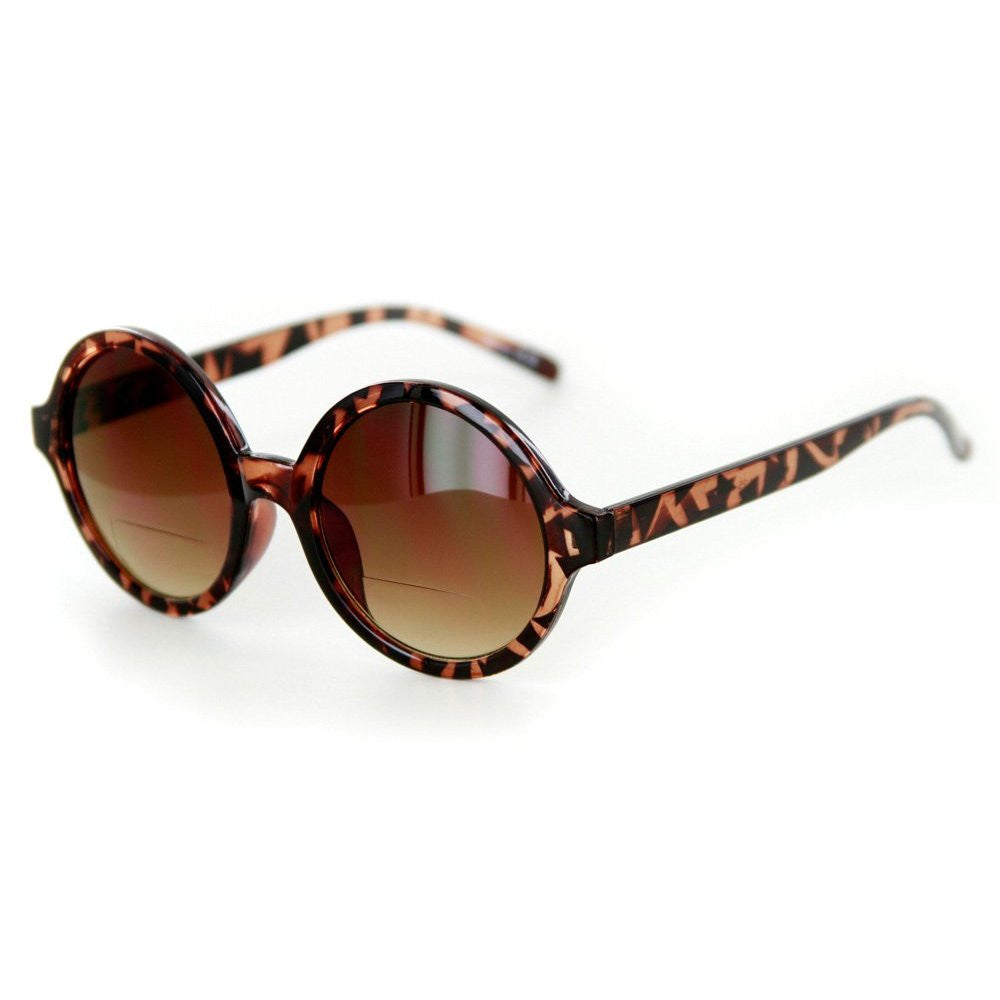 """Roundabout"" Vintage Fashion Bifocal Sunglasses for Trendy and Stylish Women - Aloha Eyes - 2"
