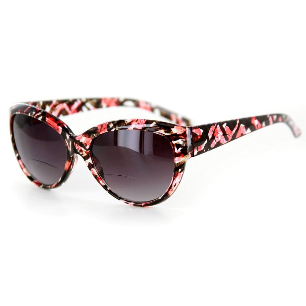 """Bombshell"" Vintage-Inspired Fashion Bifocal Sunglasses for Women - Aloha Eyes - 3"