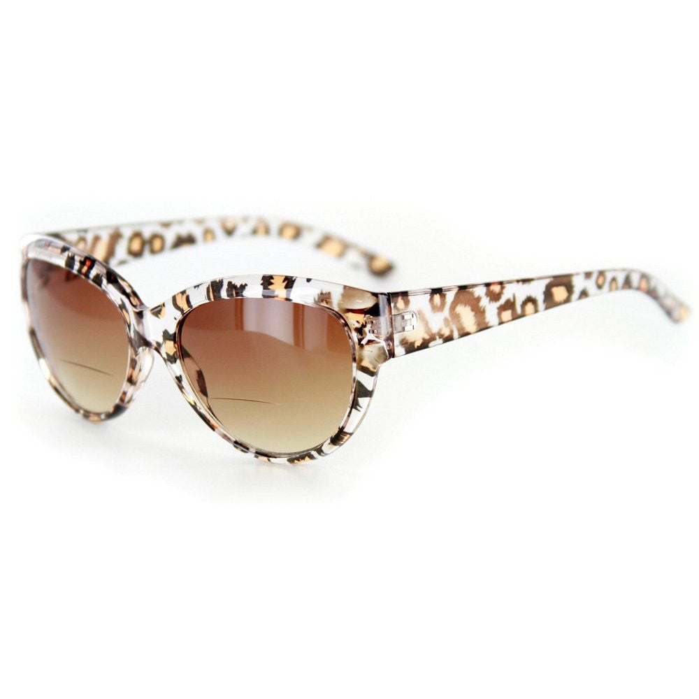 """Bombshell"" Vintage-Inspired Fashion Bifocal Sunglasses for Women - Aloha Eyes - 2"