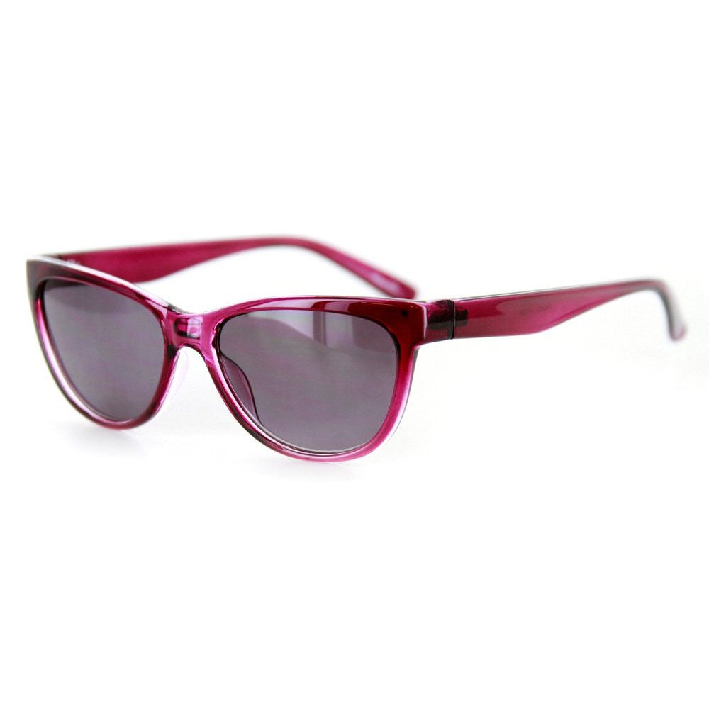 """Wayside"" Women's Vintage Inspired Full-Reading Sunglasses (Non-Bifocal) - Aloha Eyes - 3"