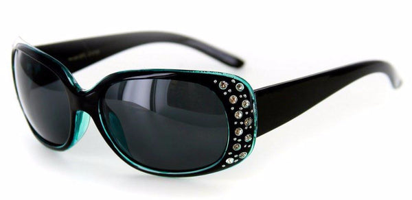 """Oceana"" Polarized Sunglasses with Crystals for Women - Aloha Eyes - 1"