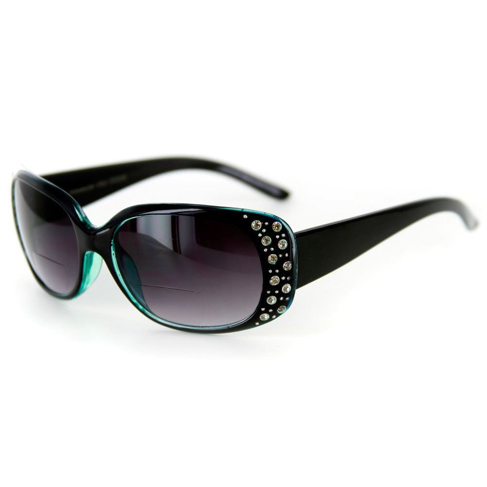 """Oceana"" Fashion Bifocal Sunglasses with Austrian Crystals for Women - Aloha Eyes - 2"