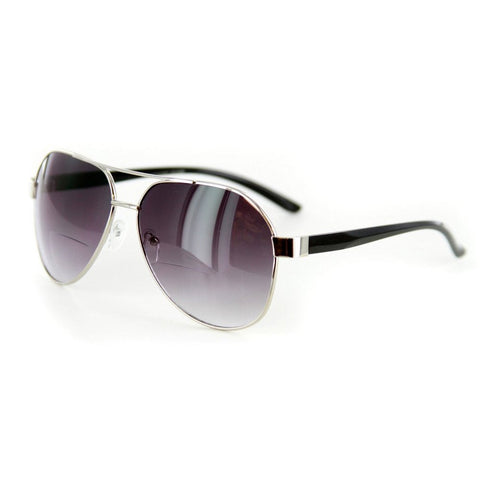 """Traditional Aviators"" Bifocal Sunglasses"