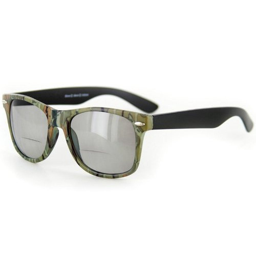 """Camo Wayfarer"" Fashion Bifocal Sunglasses for Stylish Men and Women - Aloha Eyes - 4"