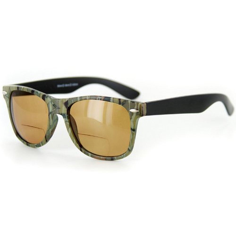 """Camo Wayfarer"" Fashion Bifocal Sunglasses for Stylish Men and Women - Aloha Eyes - 3"
