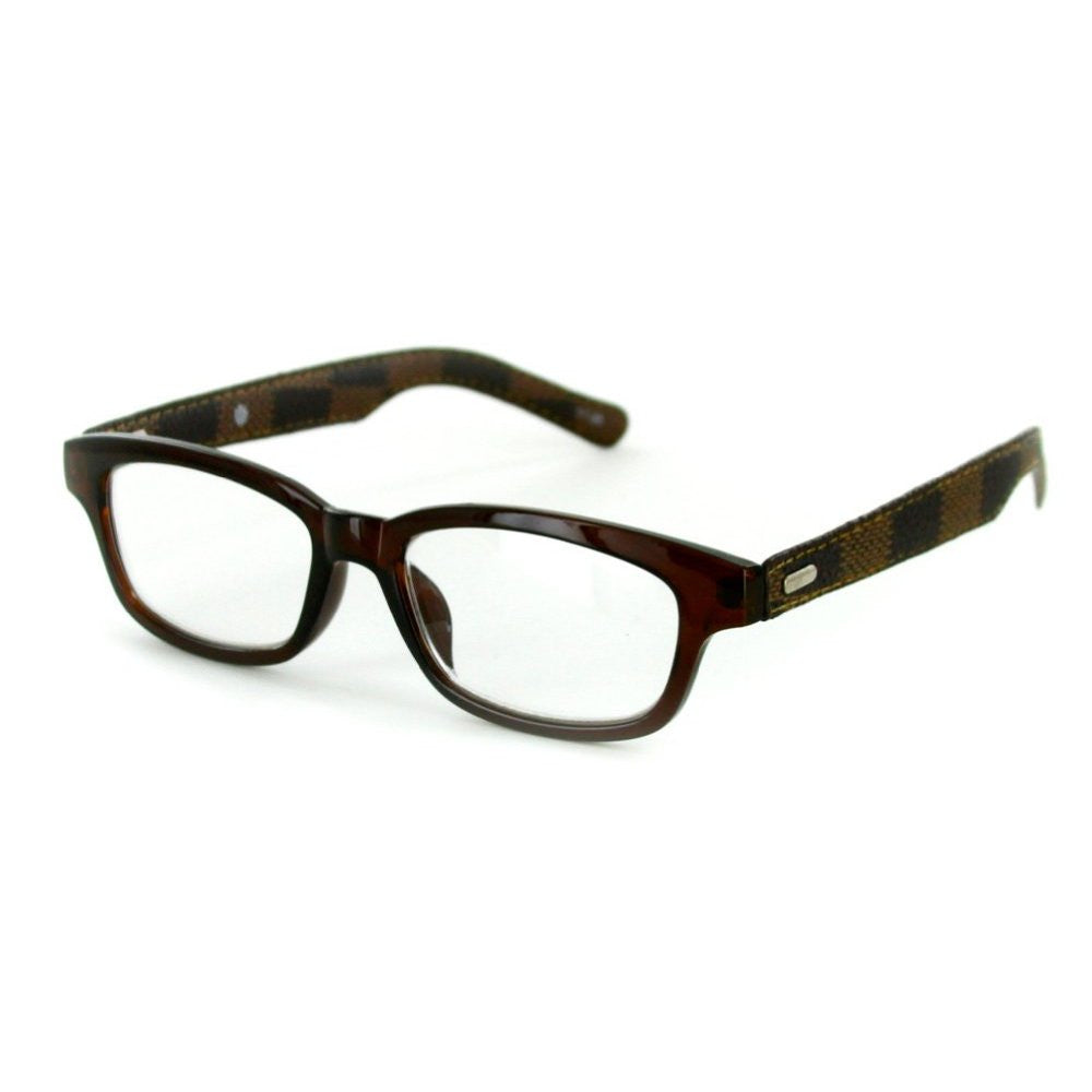 """Milan"" Ultra-Modern Fashion Readers with Italian Styling for Men - Aloha Eyes - 2"