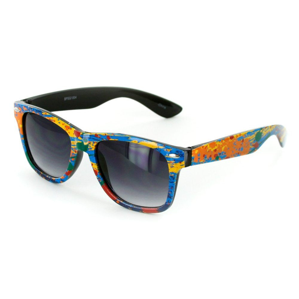 """Good Times"" Colorful Fashion Wayfarer Sunglasses for Men and Women - Aloha Eyes - 2"
