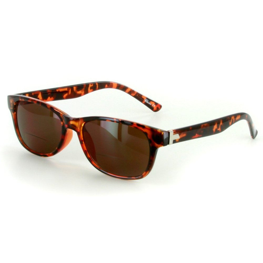 """Oahu"" Bifocal Sunglasses with Designer Wayfarer Shape for Stylish Men and Women - Aloha Eyes - 4"