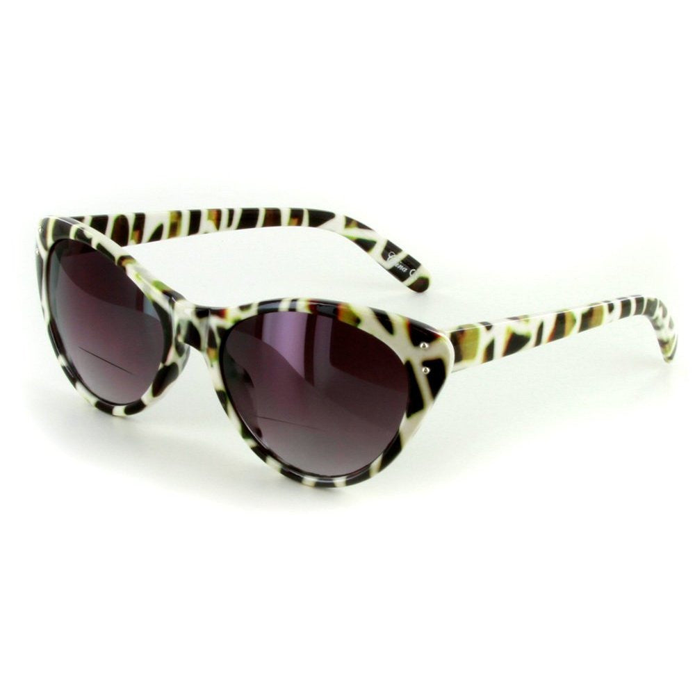 """Prowl"" Bifocal Sunglasses with Designer Cateye Shape for Stylish Women - Aloha Eyes - 3"