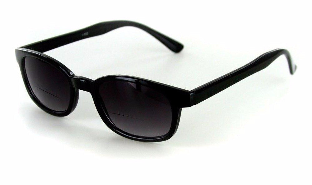 """Cordoba"" Extra Dark, Vintage Style Bifocal Sunglasses with Gradient Lens - Aloha Eyes - 1"