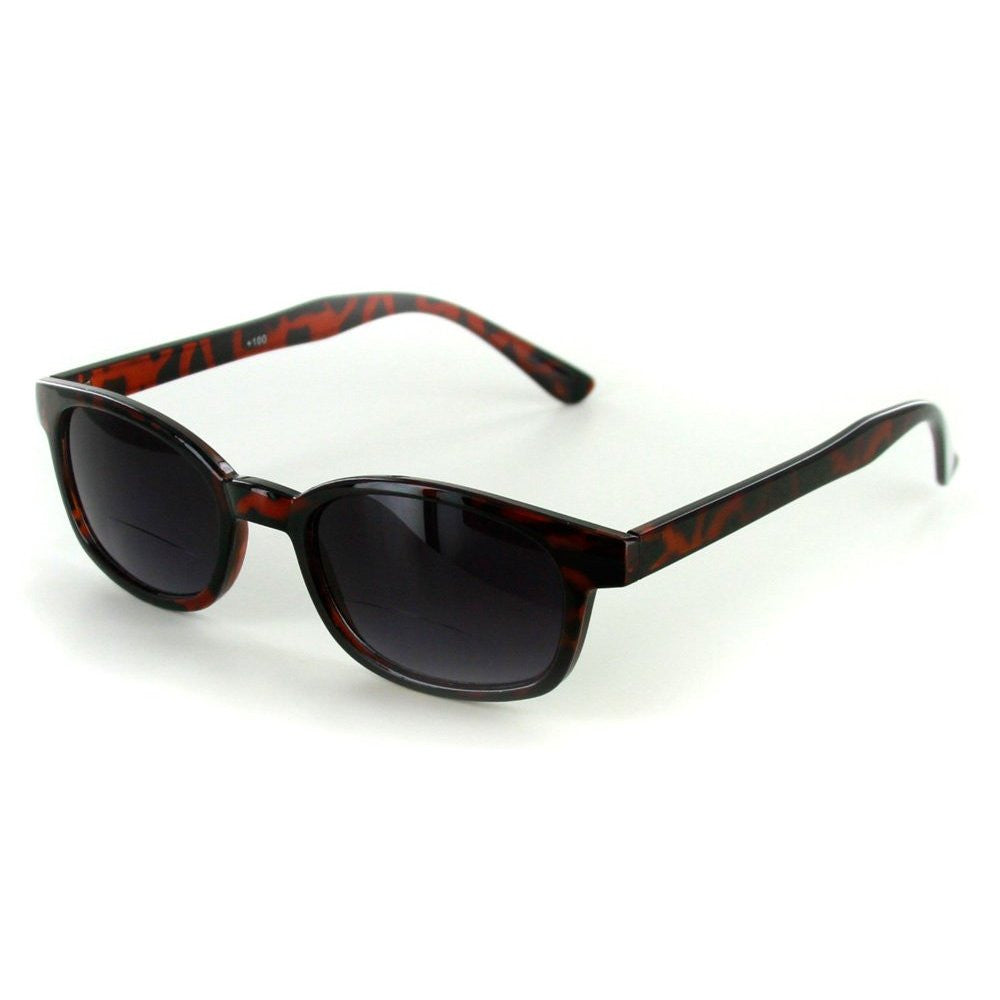 """Cordoba"" Extra Dark, Vintage Style Bifocal Sunglasses with Gradient Lens - Aloha Eyes - 2"