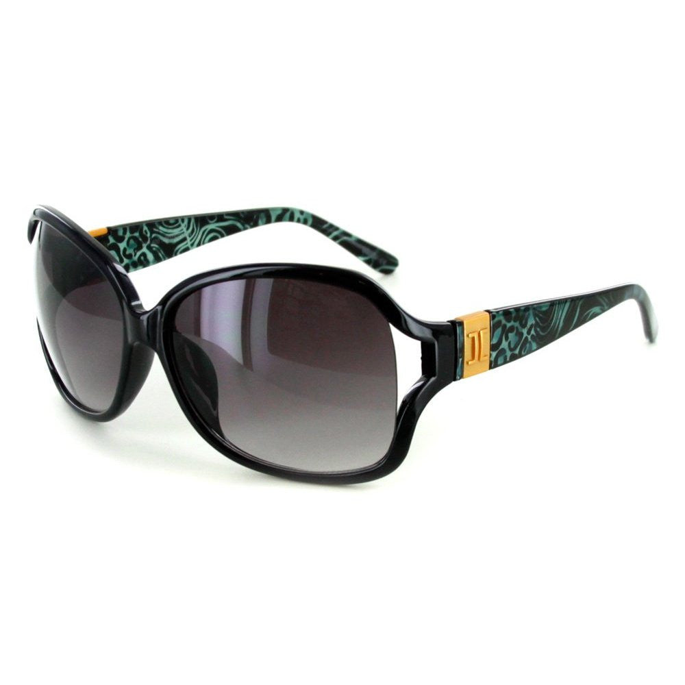 """Urban Safari"" Fashion Oversized Sunglasses with Butterfly Shape for Women - Aloha Eyes - 2"