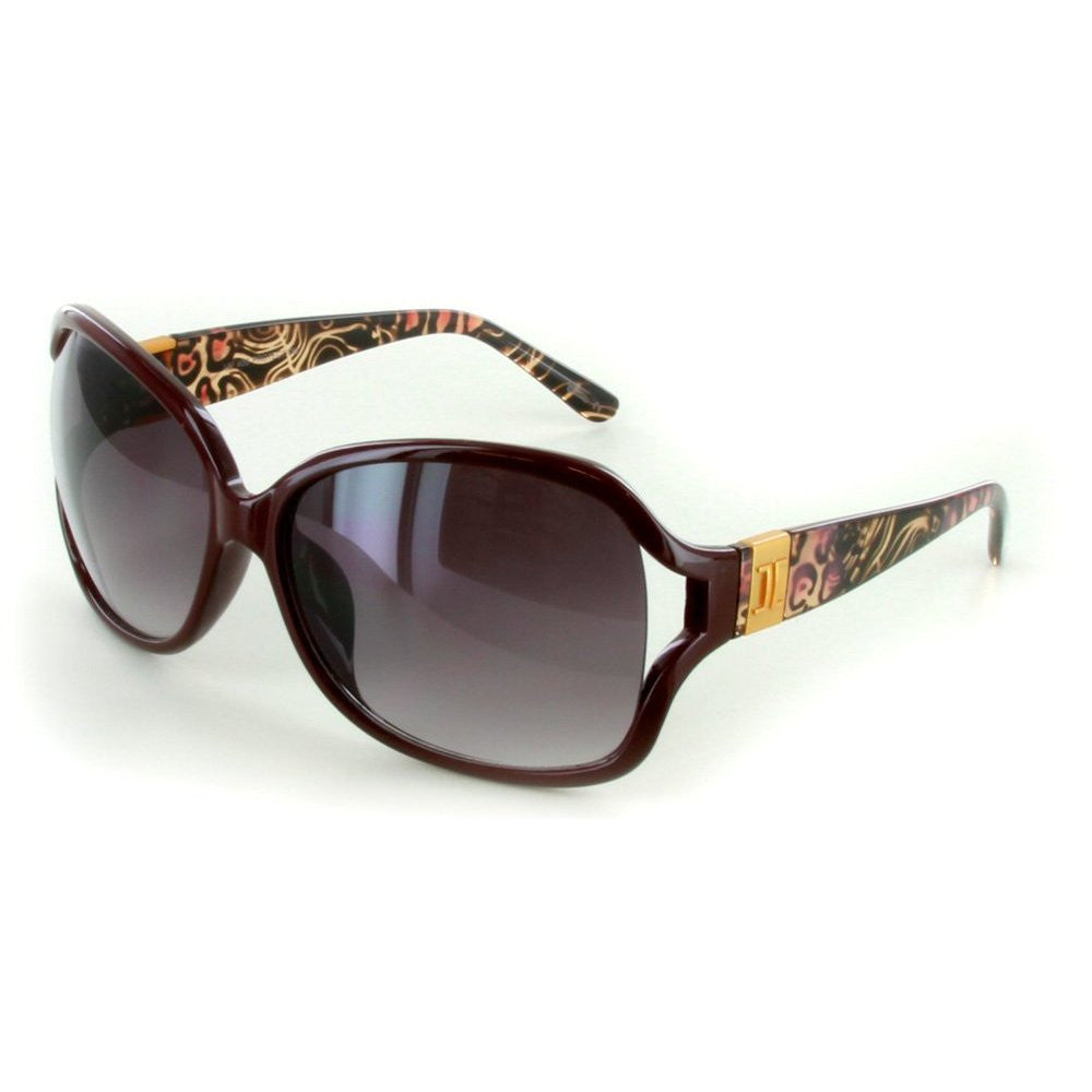 """Urban Safari"" Fashion Oversized Sunglasses with Butterfly Shape for Women - Aloha Eyes - 4"