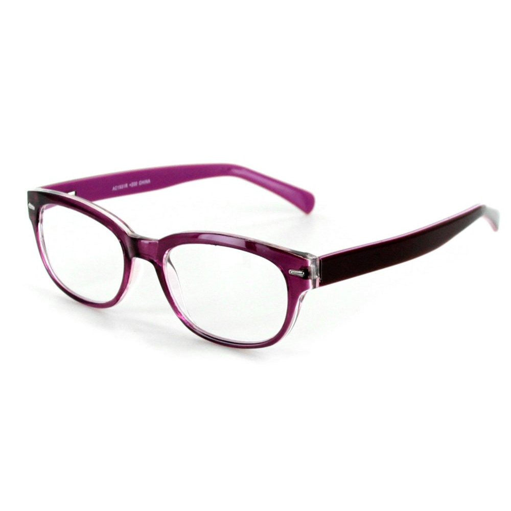 """Islander RX01"" Fashion Reading Glasses with RX-Able Wayfarer Frames 51mm x 18mm x 140mm - Aloha Eyes - 3"