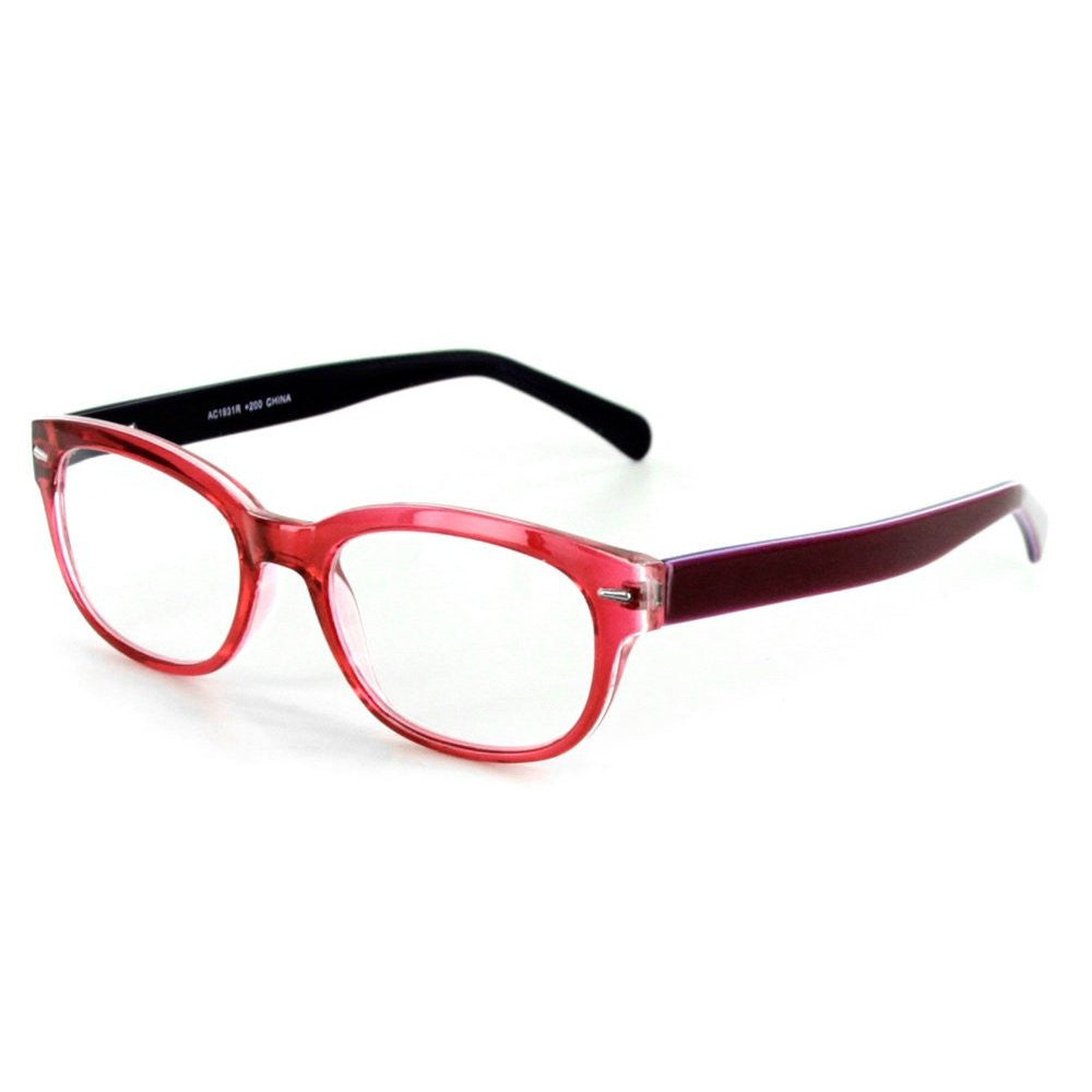 """Islander RX01"" Fashion Reading Glasses with RX-Able Wayfarer Frames 51mm x 18mm x 140mm - Aloha Eyes - 4"