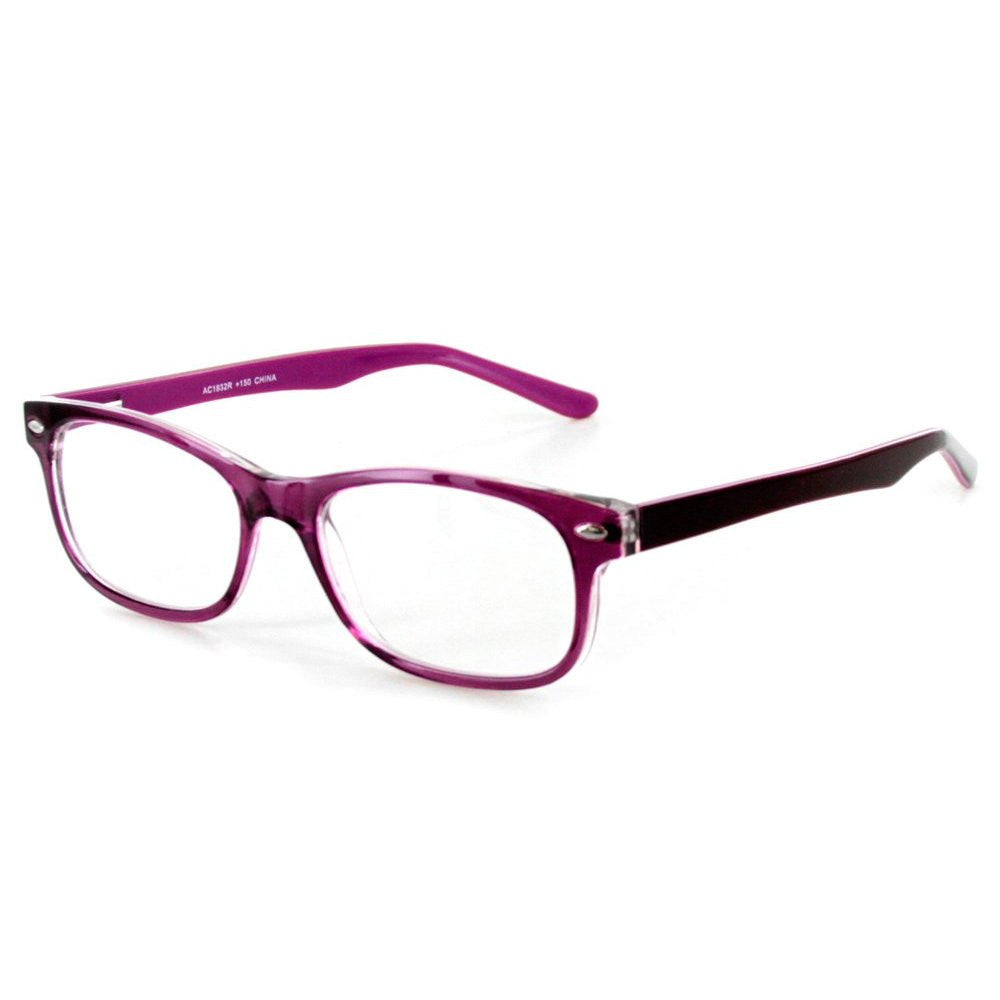 """Islander RX02"" Fashion Reading Glasses with RX-Able Wayfarer Frames 51mm x 18mm x 140mm - Aloha Eyes - 3"