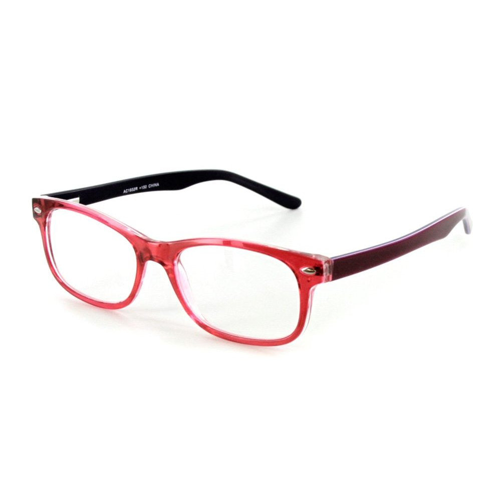"""Islander RX02"" Fashion Reading Glasses with RX-Able Wayfarer Frames 51mm x 18mm x 140mm - Aloha Eyes - 4"