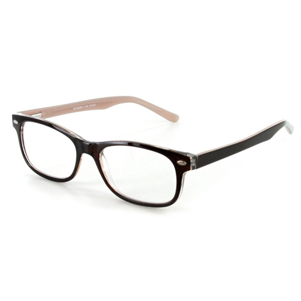 """Islander RX02"" Fashion Reading Glasses with RX-Able Wayfarer Frames 51mm x 18mm x 140mm - Aloha Eyes - 2"