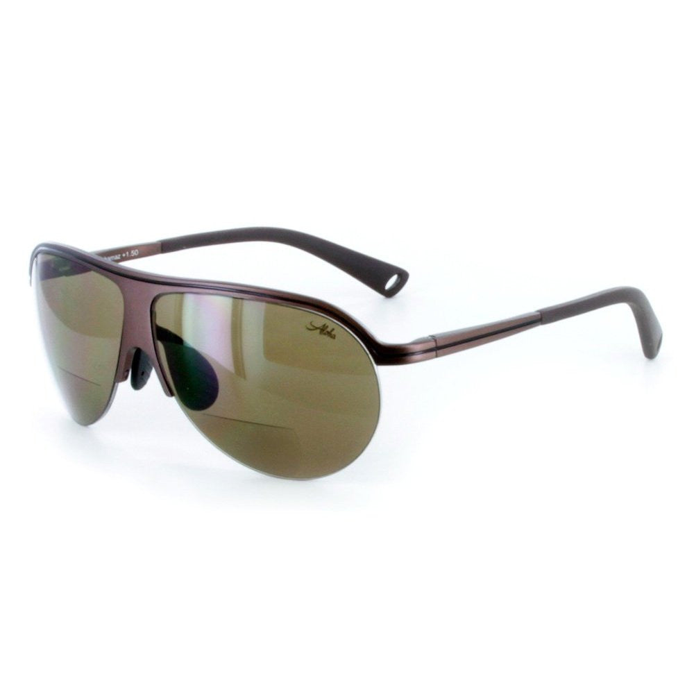 """Bahamaz"" Auminum RX-able Bifocal Aviator Sunglasses for Men and Women - Aloha Eyes - 2"