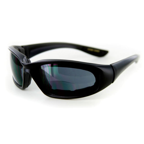 """Wind Master"" Bifocal Sun Goggles with Performance Wrap-Around Sport Design - Aloha Eyes"