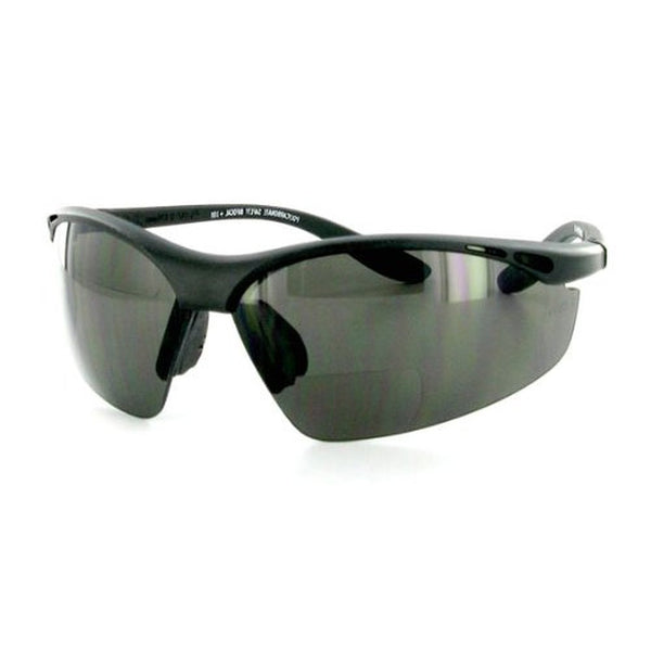 """Wrap-Around Sport"" Bifocal Sunglasses for Sporty and Stylish Men - Aloha Eyes - 1"