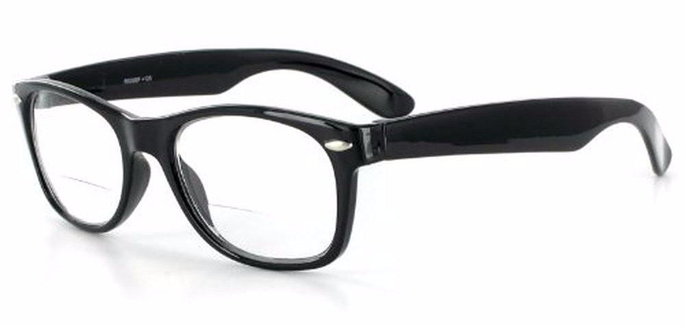 """Hepcat"" Fashion Bifocal Readers with Vintage Retro Design and a RX-able frame - 50mm x 18mm x 142mm - Aloha Eyes - 1"