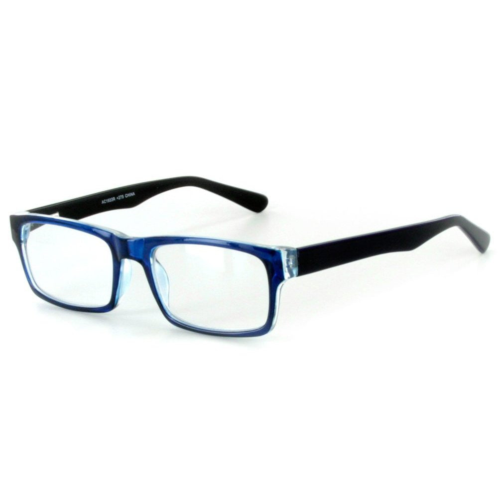 """Islander RX03"" Fashion Reading Glasses with RX-Able Wayfarer Frames 51mm x 18mm x 142mm - Aloha Eyes - 3"