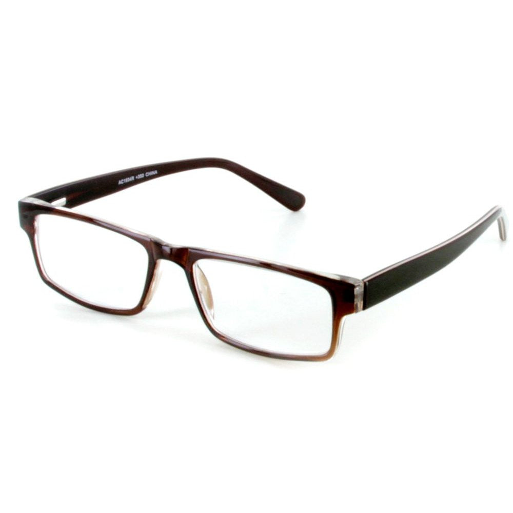 islander rx04 fashion reading glasses with rx able wayfarer frames 50mm x 18mm