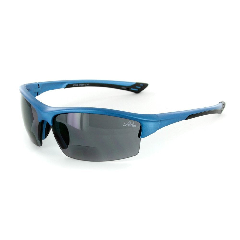 """Stone Creek® MX1"" Men's Wrap-Around Bifocal Reading Sunglasses, Our Best-Selling Item of All Time - Aloha Eyes - 3"