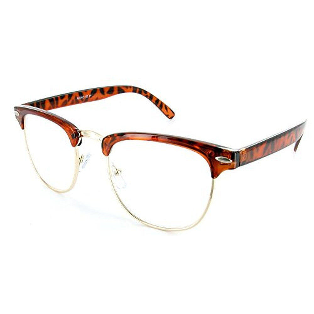 """Retro Man"" Italian designer reading glasses for youthful men who read in style. - Aloha Eyes - 3"