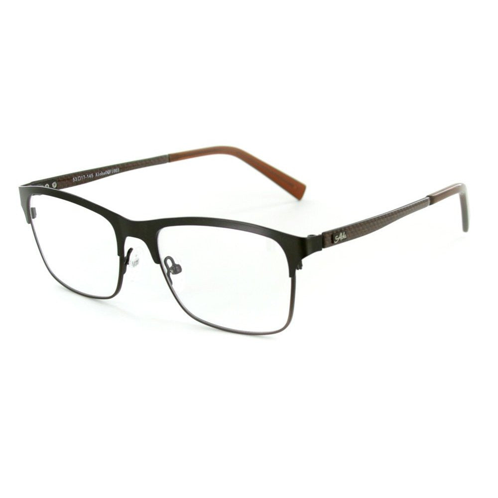 """Olympus"" Optical-Quality RX-Able Wayfarer Carbon Fiber Frames 53mm x 17mm x 145mm - Aloha Eyes - 2"