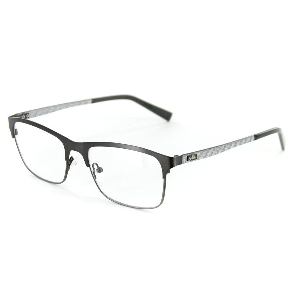 """Olympus"" Optical-Quality RX-Able Wayfarer Carbon Fiber Frames 53mm x 17mm x 145mm - Aloha Eyes - 3"