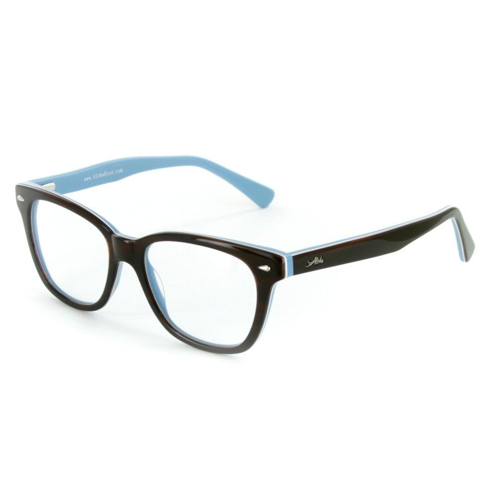 """Vesuvius"" Optical-Quality RX-Able Wayfarer Frames (51mm x 17mm x 145mm) for Stylish Men and Women - Aloha Eyes - 3"